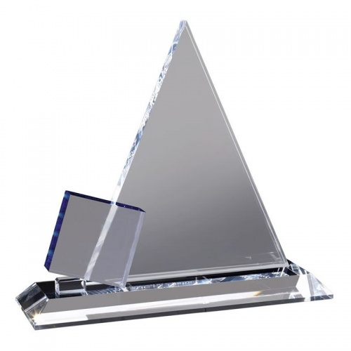 Clear Crystal Pyramid Award AC80