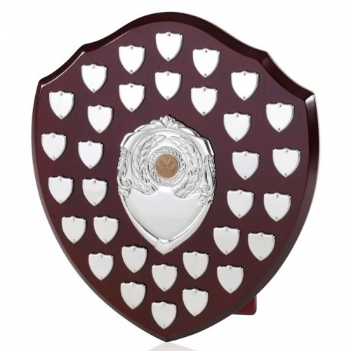 14in Large Wood Awards Shields BPS