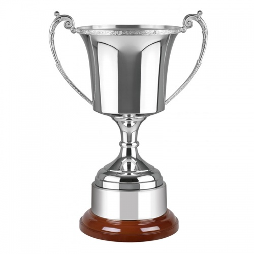 Silver Plated Celtic Trophy CM496