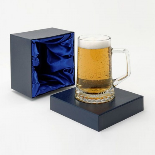 One Pint Stern Tankard With Star Base