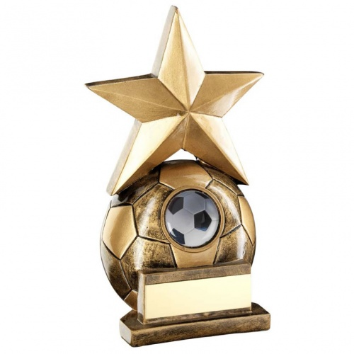 Resin Football Star Trophy RF312