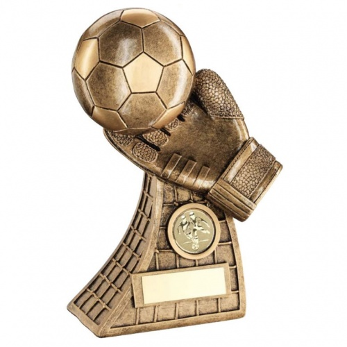 Football Goalkeeper Fingertips Trophy