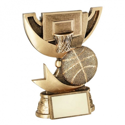 Resin Basketball Trophy Cup