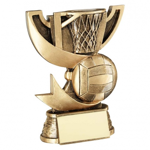Resin Netball Mini Trophy Cup