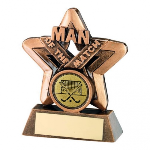 Hockey Man of the Match Star Trophy