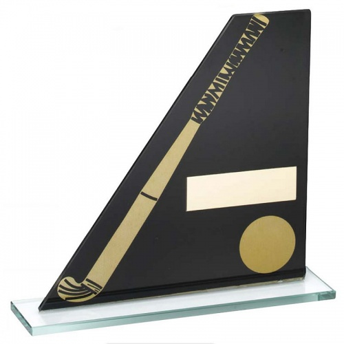 Hockey Glass Plaque in Sloping Design
