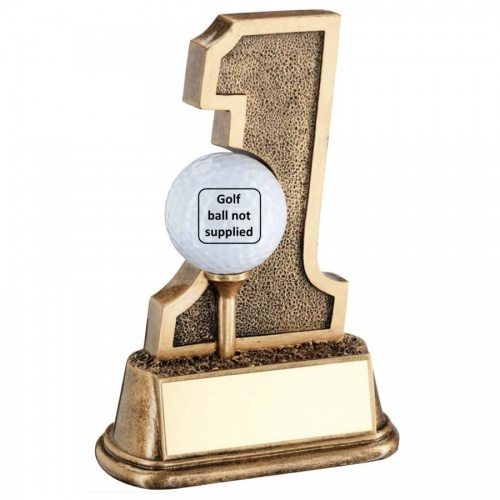 Resin Golf Hole in One Trophy RF797