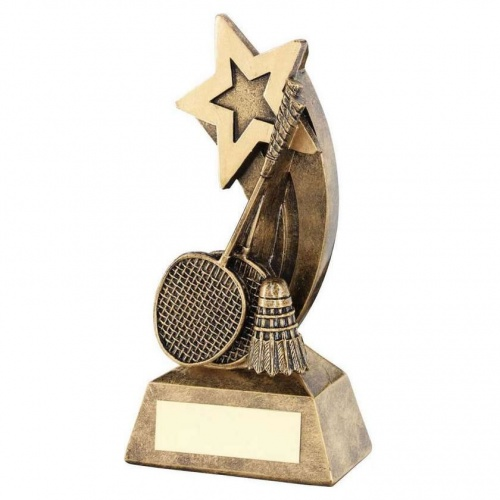 Badminton Shooting Star Awards Trophy