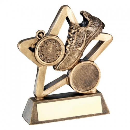 Athletics Mini Star Running Award Trophy