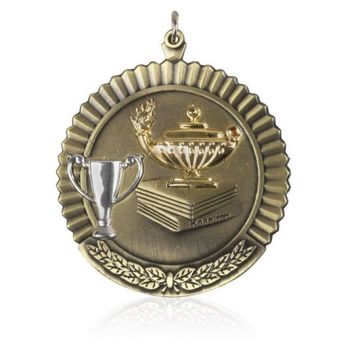 2in Gold Knowledge Medal MD11G