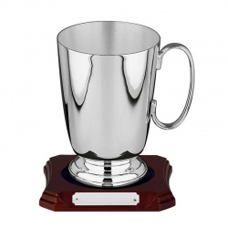 Silver Plated Tankard 673