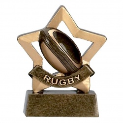Rugby Mini Star Trophy