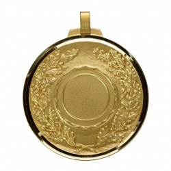70mm Antique Gold Medal Holder