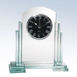 Jade Glass Ceasar Clock