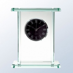 Jade Glass Palace Clock