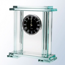 Jade Glass Royal Palace Clock