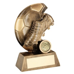 Resin Football & Boot Trophy RF322