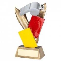 Resin Football Referee Trophy RF522