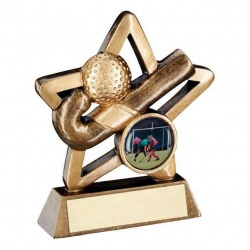 Resin Hockey Mini Star Trophy