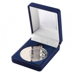 3.5in Silver Swimming Medal