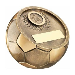 Small Bronze Football Trophy RF210