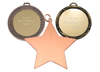 Engraved Medals - Awards Trophies Supplier