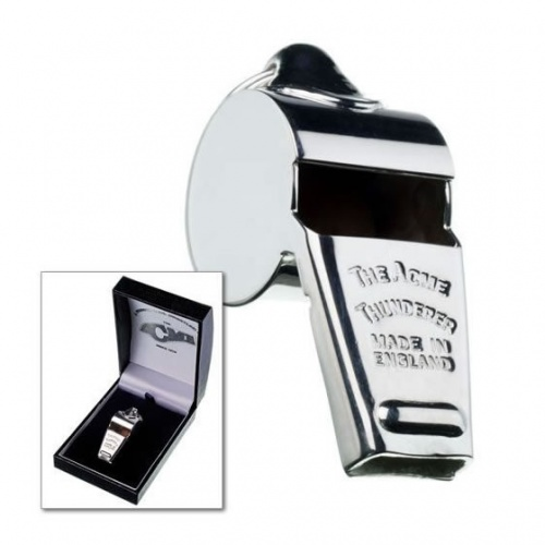 50mm Silver Acme Thunderer Whistle