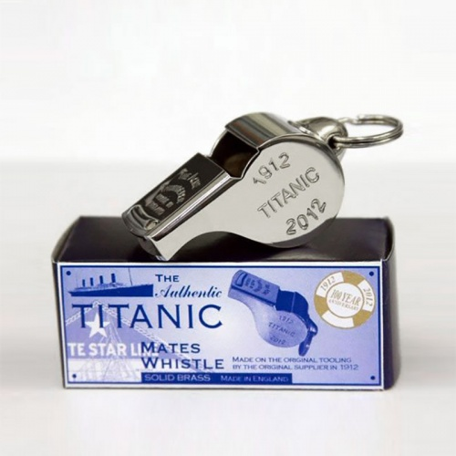Acme Titanic Centenary Whistle (Nickel Plated)