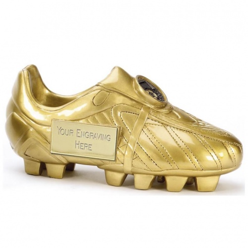 3D Football Golden Boot Trophy