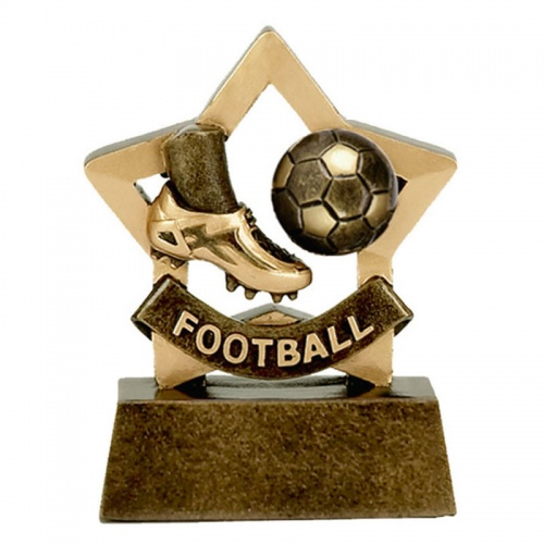 Football Mini Star Award Trophy