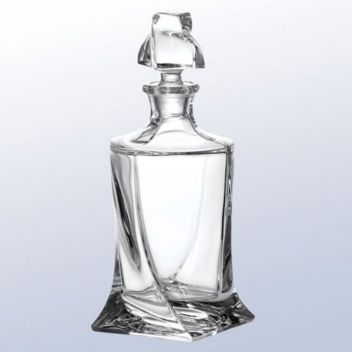 Crystal Decanter - Quadro