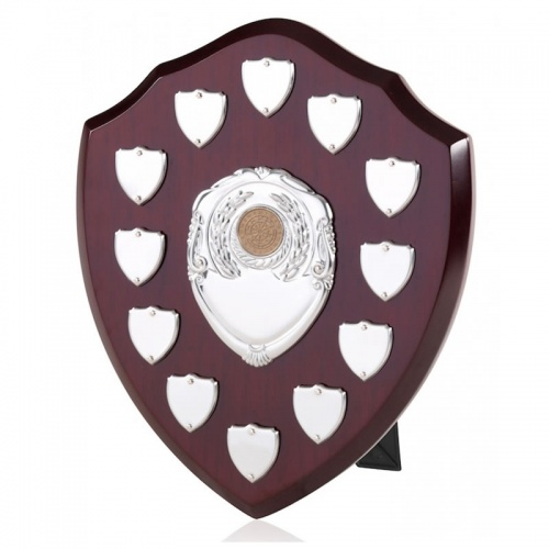10in Wood Awards Shields BPS