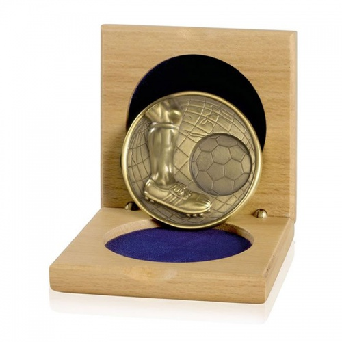 Gold Heavy Gauge Football Medals CGHM07