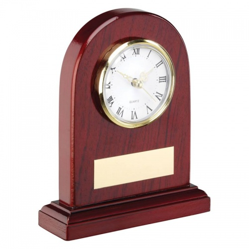 6in Classic Arch Top Mantel Clock