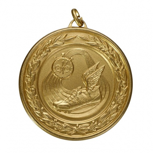 50mm Athletics Gold Medal