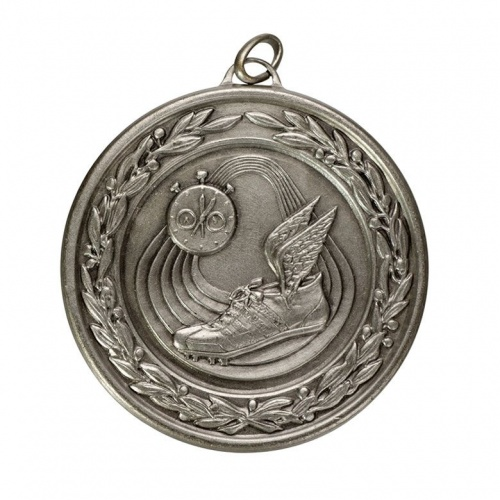 50mm Athletics Silver Medal