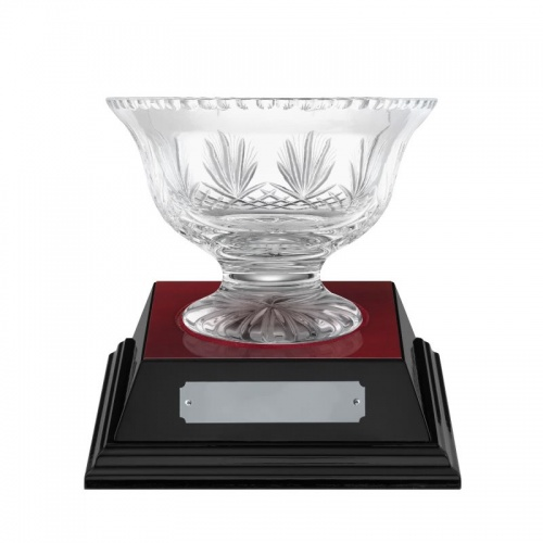 4in Crystal Presentation Bowl - Rushmore