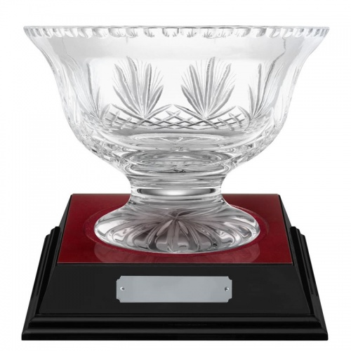 6.5in Crystal Presentation Bowl - Rushmore
