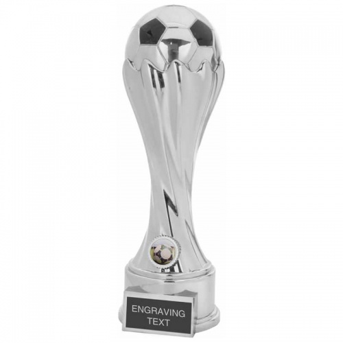 Silver Colour Football Trophy FP01
