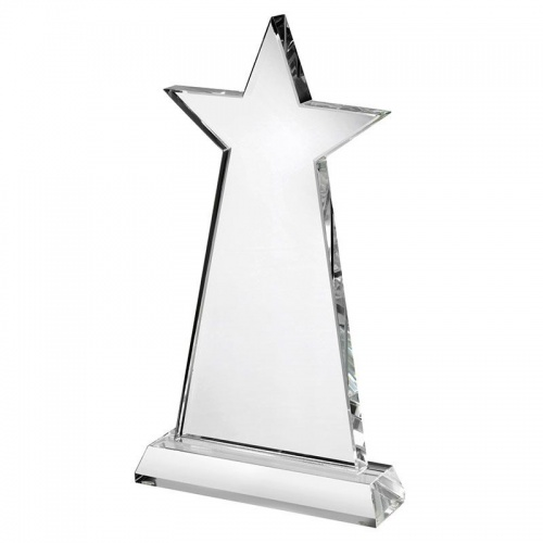 Glass Star Plaque JOG030