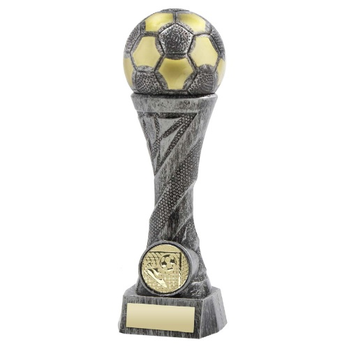 Heavyweight Silver & Gold Football Trophy FP03