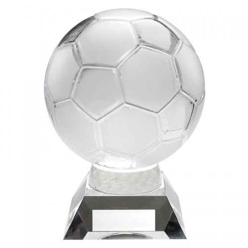 Clear Glass Football Award