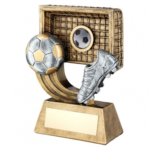 Resin Football Goalscorer Trophy RF276