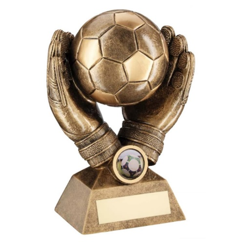 Football Goalkeeper Safe Hands Trophy