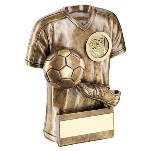 Resin Football Shirt Award Trophy
