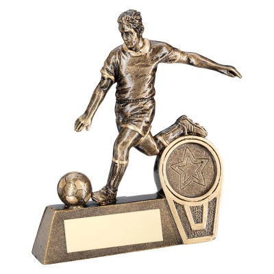 Value Resin Football Figure 4in