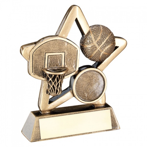3.75in Cheap Basketball Awards Trophy