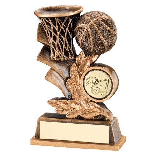 Basketball Laurel Wreath Trophy
