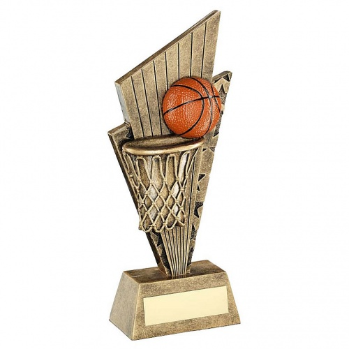 Basketball Trophy with Tapered Plaque