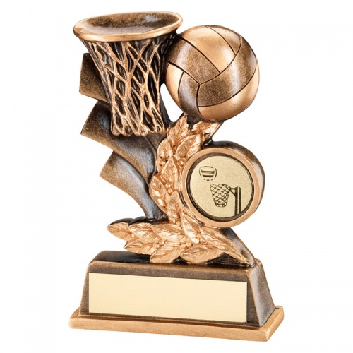 5in Resin Netball Scene Trophy
